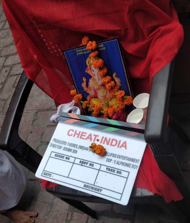 Cheat India Shoot Begins
