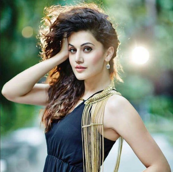 Taapsee Pannu is busy promoting Soorma on social media as she isn't in India
