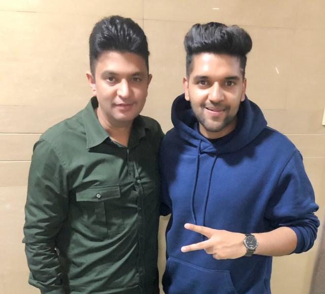 Bhushan Kumar and Guru Randhawa