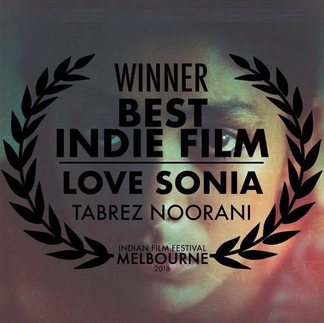Love Sonia Wins Best Indie Film At The Indian Film Festival Of Melbourne 2018