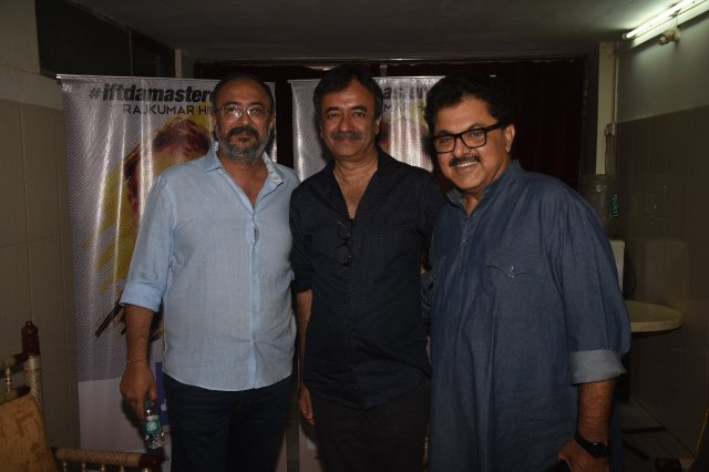 Anjum Rajabali, Rajkumar Hirani, Ashoke Pandit