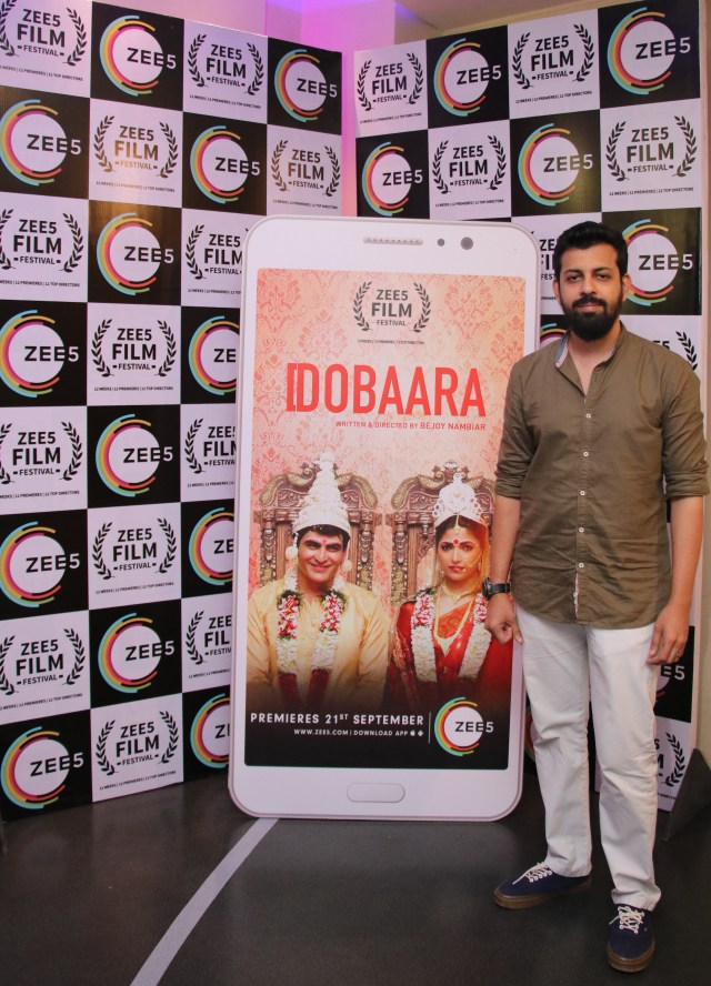 Bejoy Nambiar at the special screening of his film Dobaara_ZEE5 Film Festival