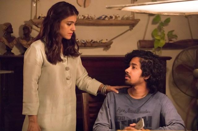 Kajol and Riddhi Sen