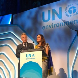 Dia Mirza and Alec Baldwin