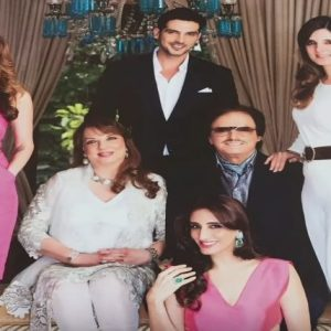 Sanjay Khan family