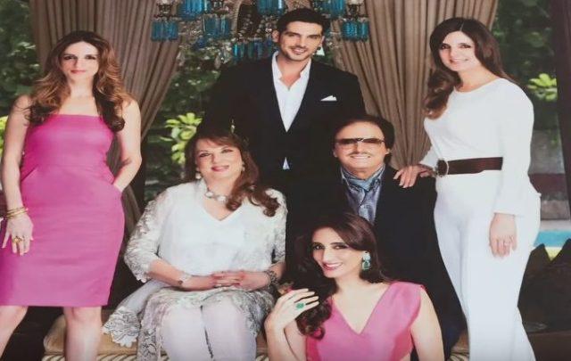 Sanjay Khan family