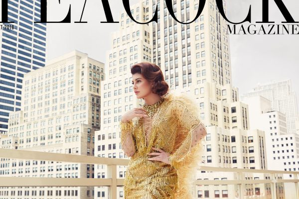 Jacqueline Fernandez Peacock Magazine