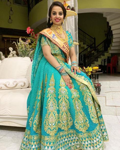 Saumya Tiwari Gautam Mrs India 2018