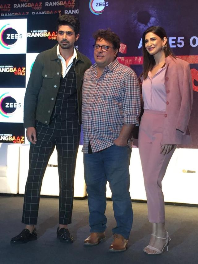 ZEE5 Launched Rangbaaz In The Presence Of Its Cast And Crew