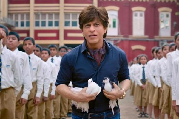 Shah Rukh Khan as a dwarf in Zero