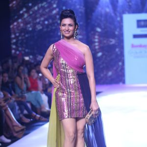 Divyanka Tripathi Dahiya Walked the Ramp For Horra Luxury at Bombay Times Fashion Week