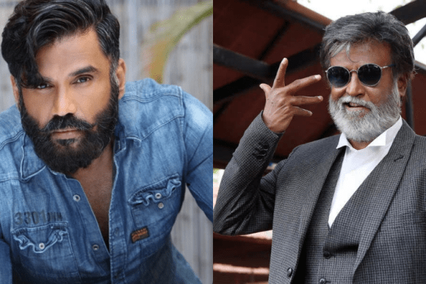 Suniel Shetty- Rajinikanth