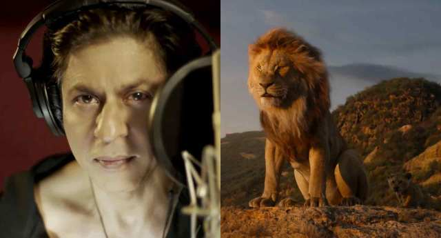 Shah Rukh Khan Dubbing For The Lion King