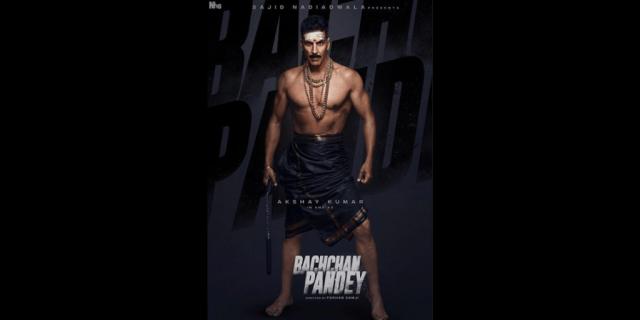 Akashay Kumar in an as Bachchan Pandey