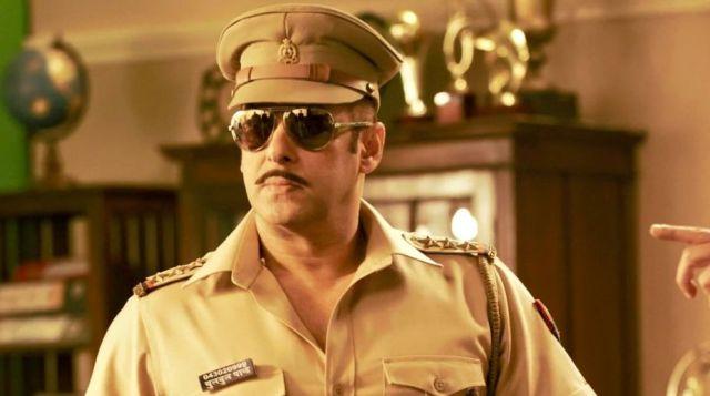 Salman Khan Shoots For Dabangg 3