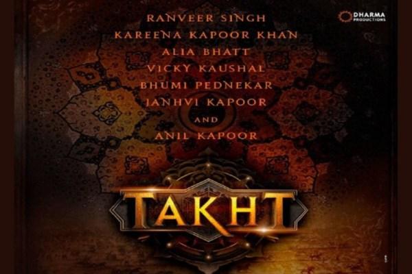 Karan Johar's Takht