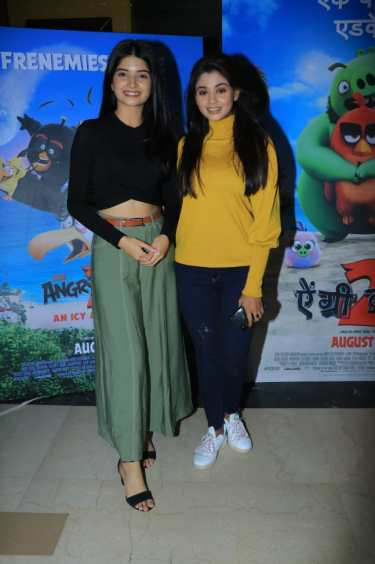 Bhavika Sharma and Tanvi Dogra