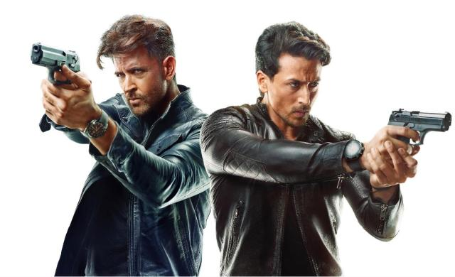 Tiger and Hrithik in WAR