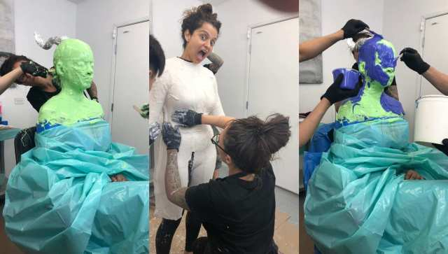 Kangana Ranaut Undergoes Extensive Prep For Thalaivi In US