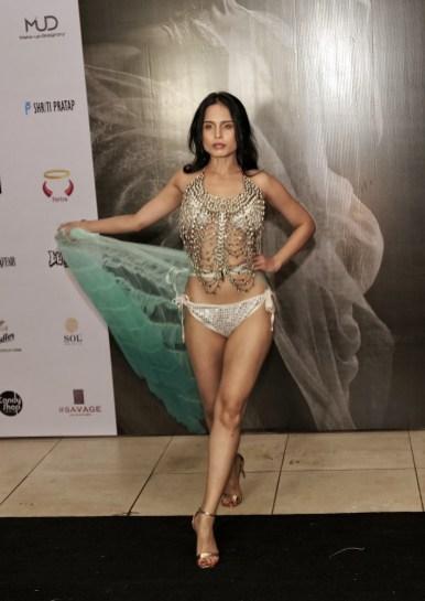 Models walk the ramp for Designer Sharad Raghav at IIFW NXT-The Intimate Tour-Mumbai Edition (1)