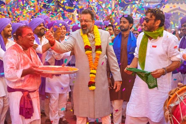 Sanjay Dutt and Jackie Shroff in Prassthanam