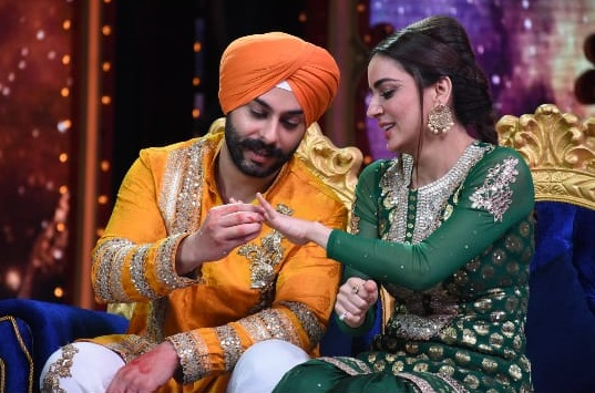 Shraddha Arya and Alam Makkar On Nach Baliye 9