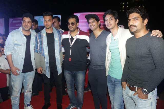 Varun Sharma, Aayush Sharma, Mukesh Chhabra, Tahir Raj Bhasin, Tushar Pandey at Khidkiyaan