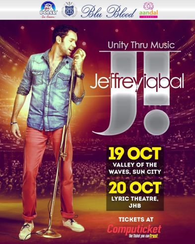 East meets West: Jeffrey Iqbal in South Africa for the first time!