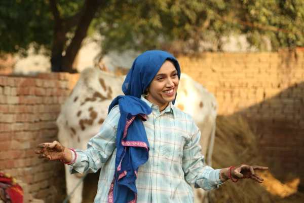 Bhumi Pednekar in a still from Saand Ki Aankh