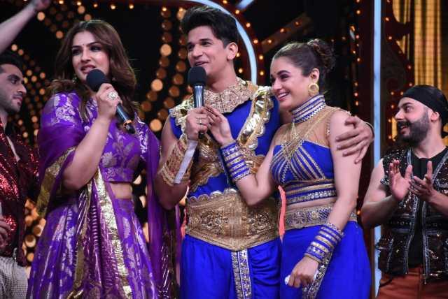 Prince Narula-Yuvika Chaudhary Out Of Nach Baliye 9