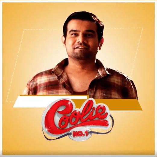 Sahil Vaid In Coolie No.1