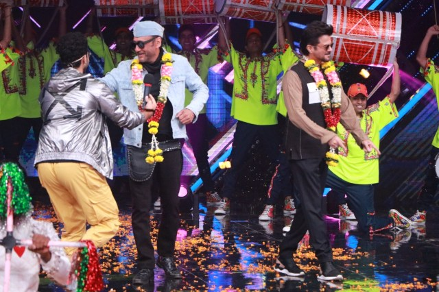Anil Kapoor And Jackie Shroff on Dance+ 5