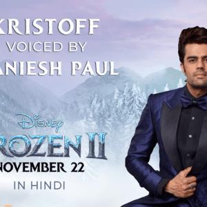 Maniesh Paul to voice Kristoff in Frozen 2
