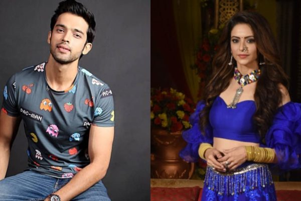 Parth Samthaan and Aamna Sharif