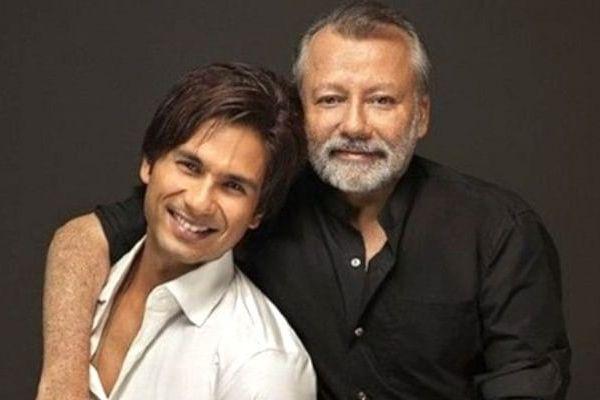 Shahid Kapoor and Pankaj Kapur