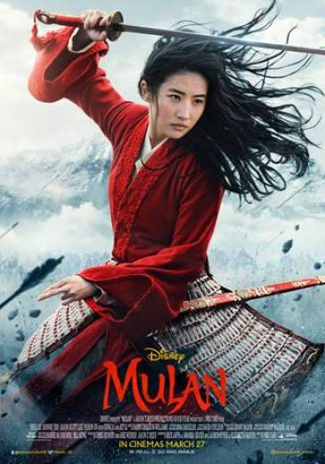 BRAND NEW MULAN TRAILER AND POSTER RELEASED