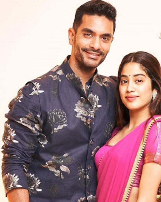 Angad Bedi and janhvi kapoor