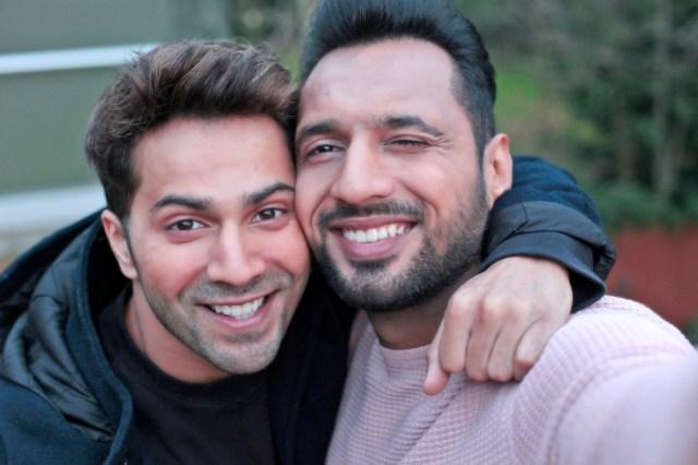 Varun Dhawan and Punit Pathak