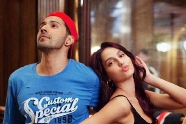 Nora Fatehi and Varun Dhawan