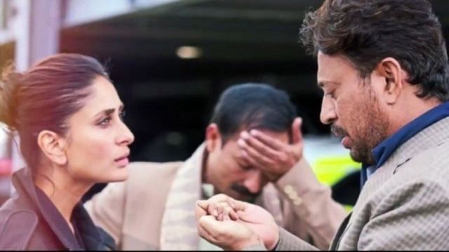 Irfaan Khan and Kareen Kapoor Khan in Angrezi Medium
