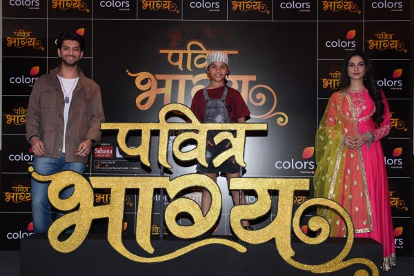 Kunal Jaisingh, Vaishnavi Prajapati and Aneri Vajani in COLORS' new show Pavitra Bhagya