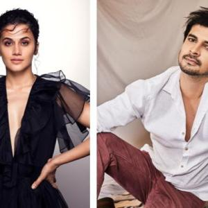 Taapsee Panny and Tahir Raj Bhasin