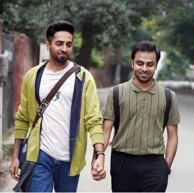 Ayushmann Khurrana and Jitendra