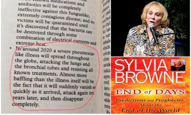 Sylvia Brown End Of Days