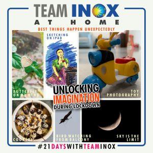 Team INOX during quarantine