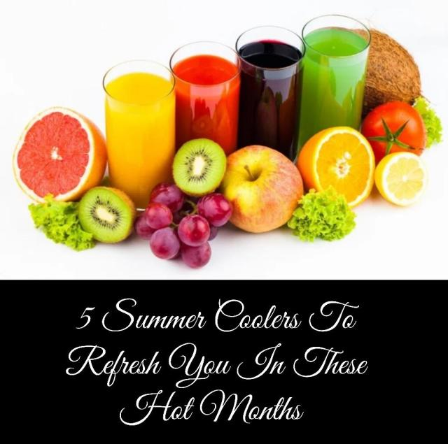 Refreshing Summer Coolers Recipes