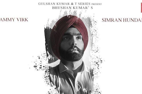 Ammy Virk on the poster of his latest single Main Suneya