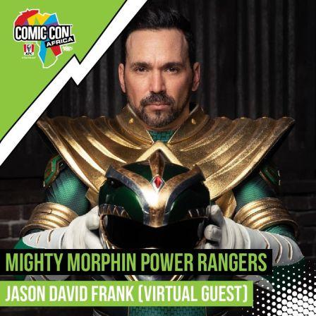 Comic Con SA: Jason David Frank Will Attend Comic Con Africa's Online Con