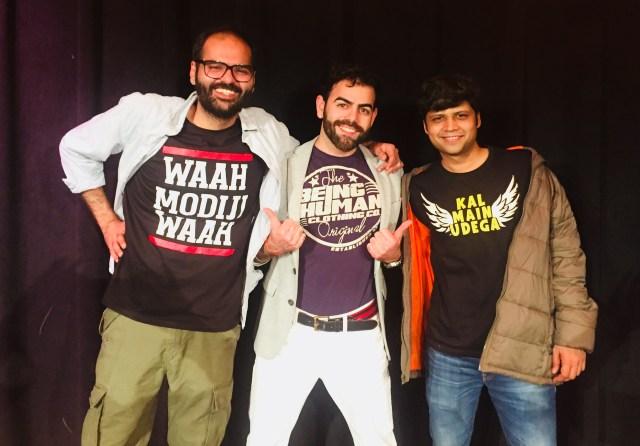 Sunny Moza, Rahul Subramanian, & Kunal Kamra
