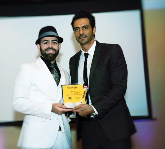 Sunny Moza & Arjun Rampal